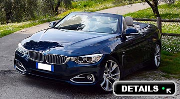 Rent BMW 420 4 series in Italy