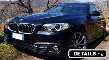 Rent BMW 525 5 series in Italy
