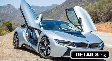 Rent a BMW I8 in Italy