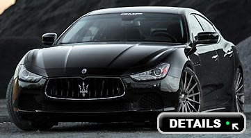 Rent a Maserati Ghibli in Italy