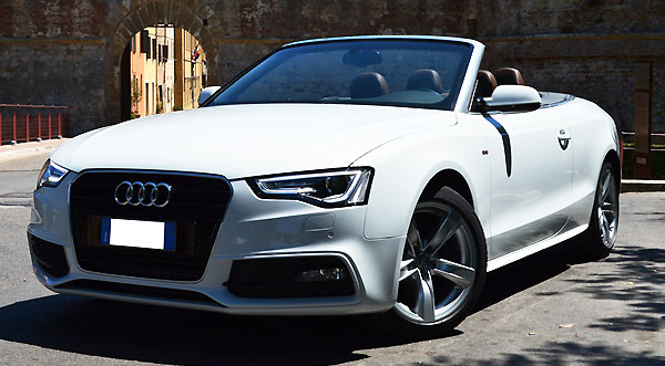Rent a  Audi A5 in Italy