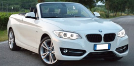 Rent a BMW 220 in Florence Italy