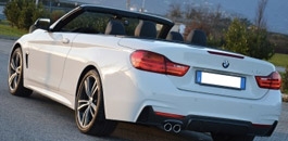 Rent BMW 420 in Florence Italy