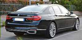 Rent a Bmw 730 in Florence Italy