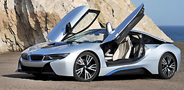 Rent a BMW I8 in Florence Italy