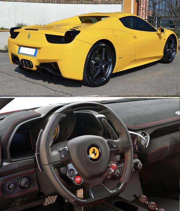 Rent A Ferrari 458 Spider Italy Compare Price Karisma Luxury Car Rental