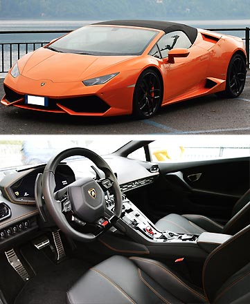 Lamborghini Huracan for rent