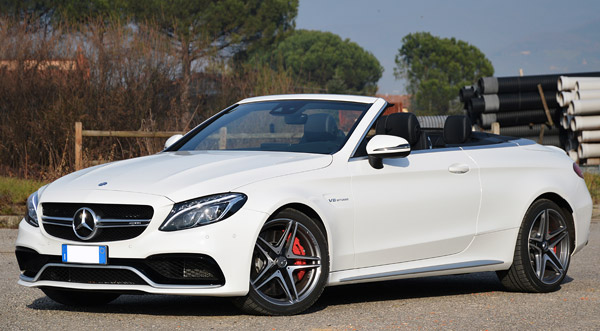 Mercedes C63 rental special price