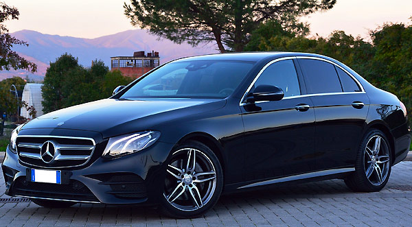 Mercedes S Class one way car rental from Milan Italy