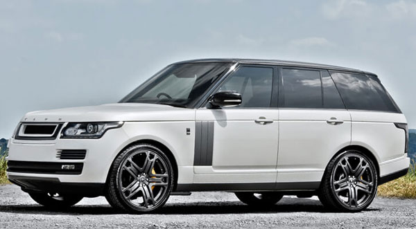Rent a Range Rover Vogue in Florence Italy