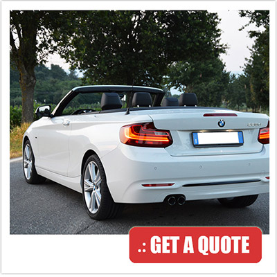 Price rent BMW 2 Series Cabrio