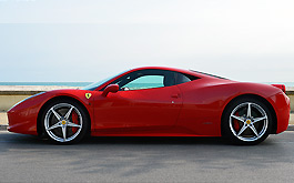 Price rent Ferrari 458 Italy