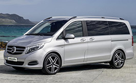 Rent a Mercedes V class in Florence Italy