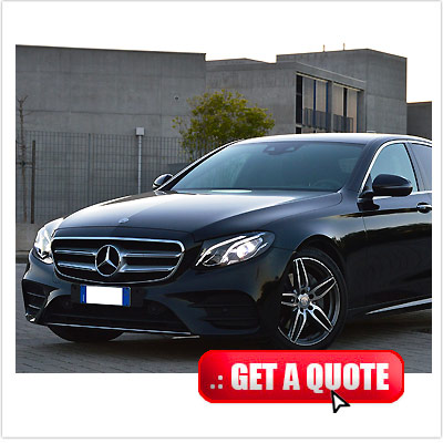 Mercedes E class for rent Italy interior
